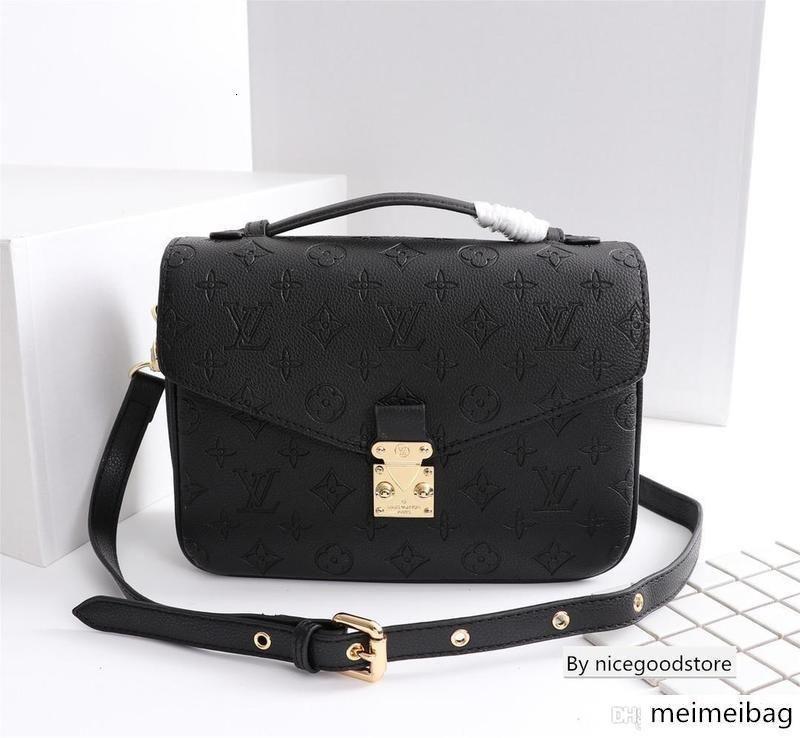 Новая Crossbody сумка сумки кошельков для женщин моды из натуральной кожи золотой цепочки плеча сумки размера 25 * 19 * 9см M40780 01