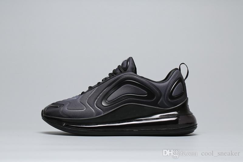 Acheter Nike 720 Airmax Air Max 2019 Nouvelles Chaussures De Course De Sport 72C Été Noir Maille Respirent Formateur Designer Chaussures De Course