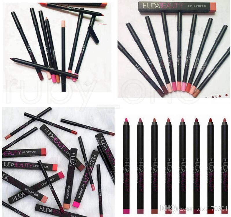 매트 롱 라스팅 립스틱 연필 전문 메이크업 방수 매트 립스틱 립 라이너 펜슬 Beautuy 메이크업 도구 5 색