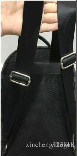 2018 Venta caliente Bolsos de moda clásica Mujeres negras hombres Mochila estilo Bolsas de lona Bolsos de hombro unisex 40 CM SportOutdoor Packs