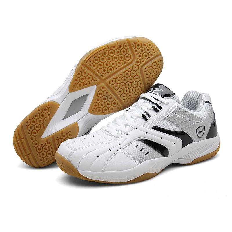 Zapatos de voleibol profesional para mujeres de los hombres transpirable resistente al desgaste antideslizante Formación Cojín Zapatos tenis de las zapatillas A9063