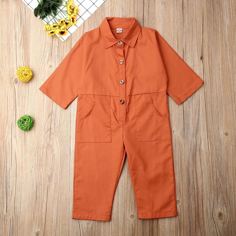2020 NEW Hot Fashion Toddler Kids Baby Girl Clothes Loose Romper Playsuit Sunsuit