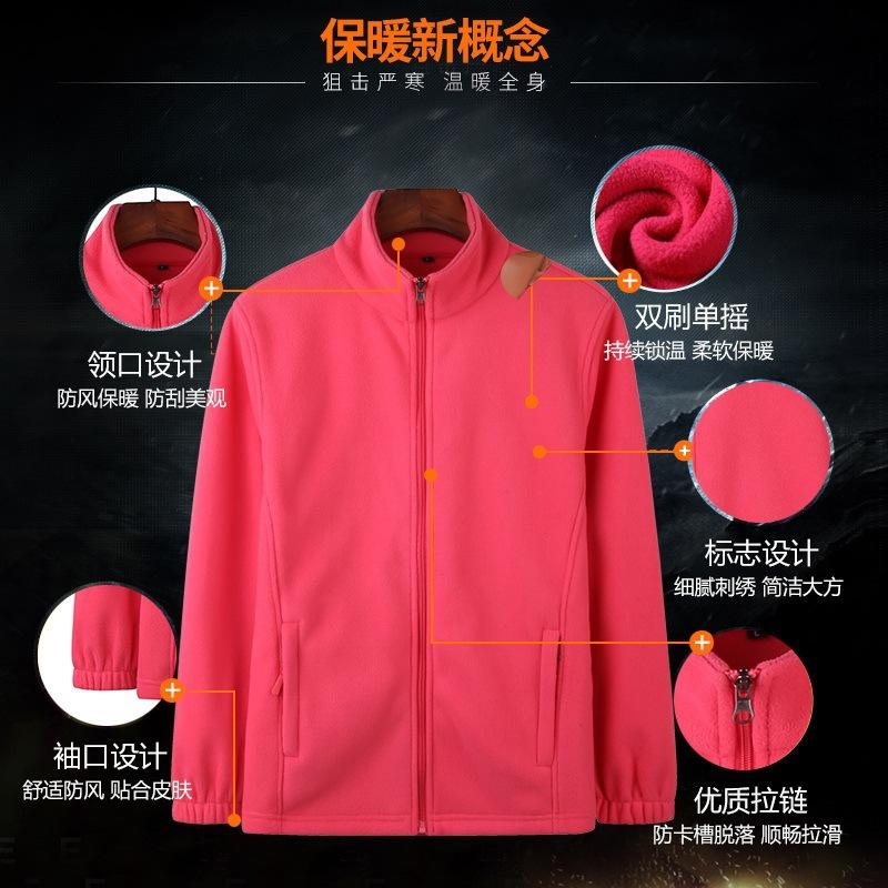 Spessore caldo del vello delle donne Polar Fleece Nuova Outdoor Uomo Autunno Inverno Tactical maglia con cappuccio impermeabile Liner Giacca