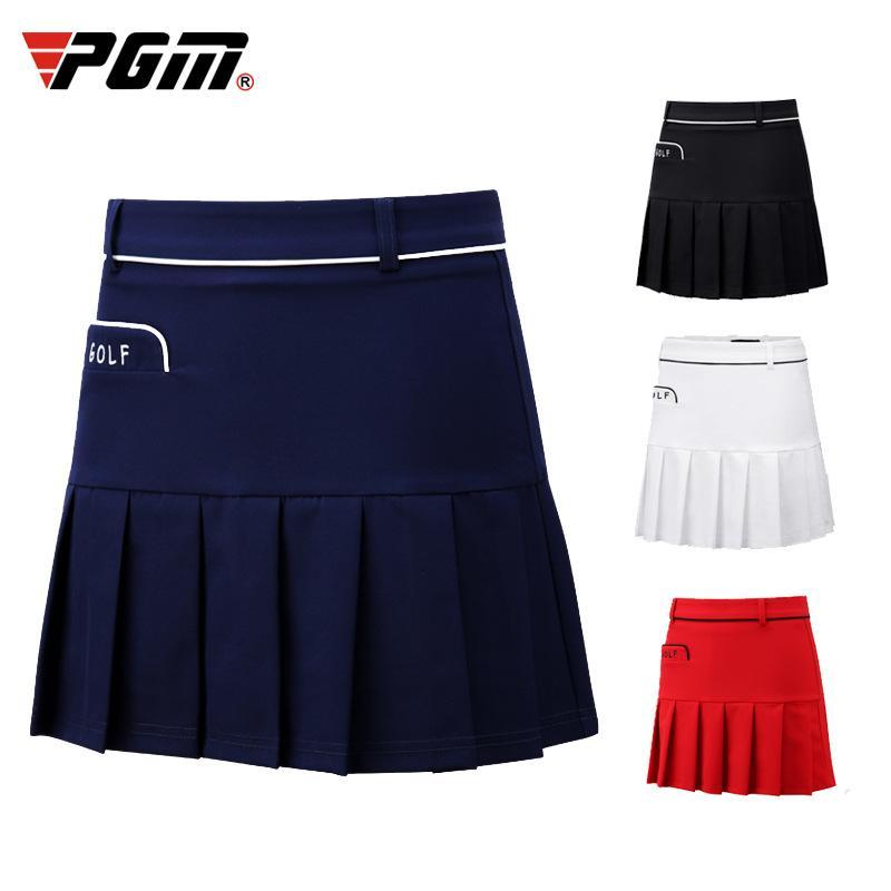 PGM Femmes Skort Jupe golfeuses plissée Jupe courte d'été Badminton Sport Jupe école plissés Tennis Jupes D0706