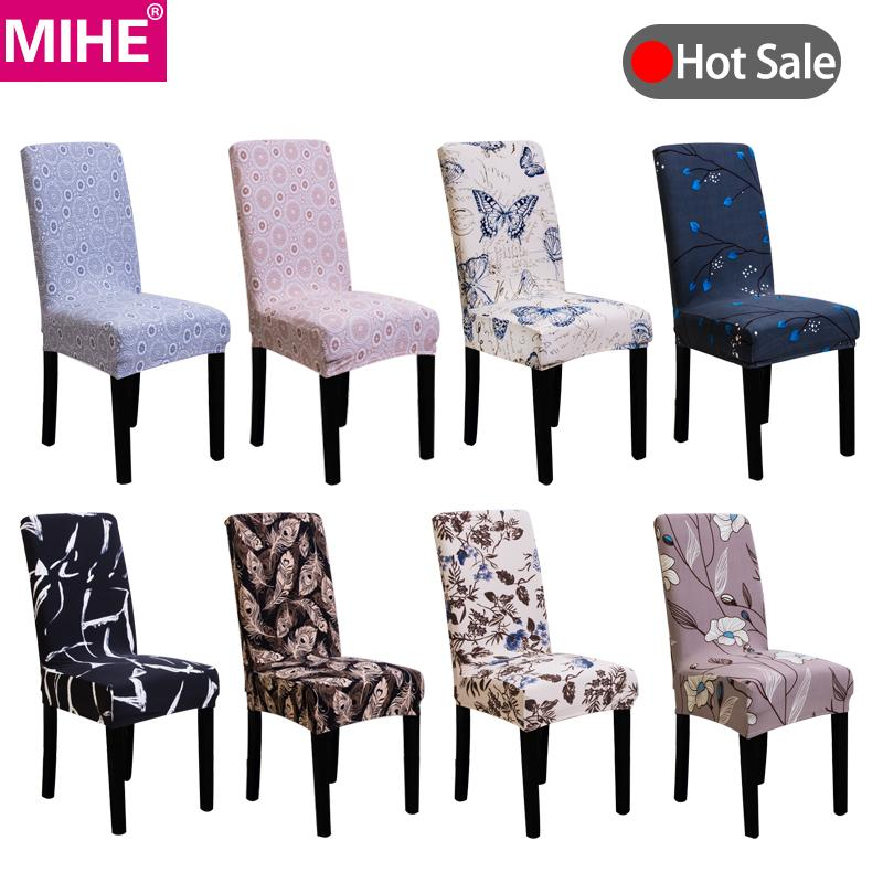 Modern Chair Cover Stretch Dining Chair Covers Spandex Elastic Sofa Car Kitchen Seat Cover Wedding Banquet YZT21