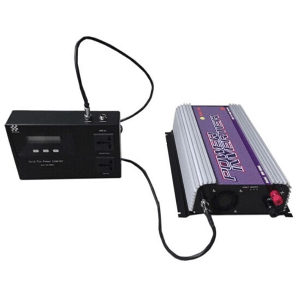Freeshipping 1500W Grid tie inverter with Limiter.The Limiter can prevent excess power go to the Grid.