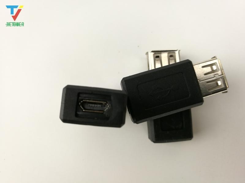 USB женский передачи Micro USB женский адаптер 5P Эндрюс мобильный телефон мать для мобильных устройств к USB преобразователь голову Оптовая 1000 шт. / Лот
