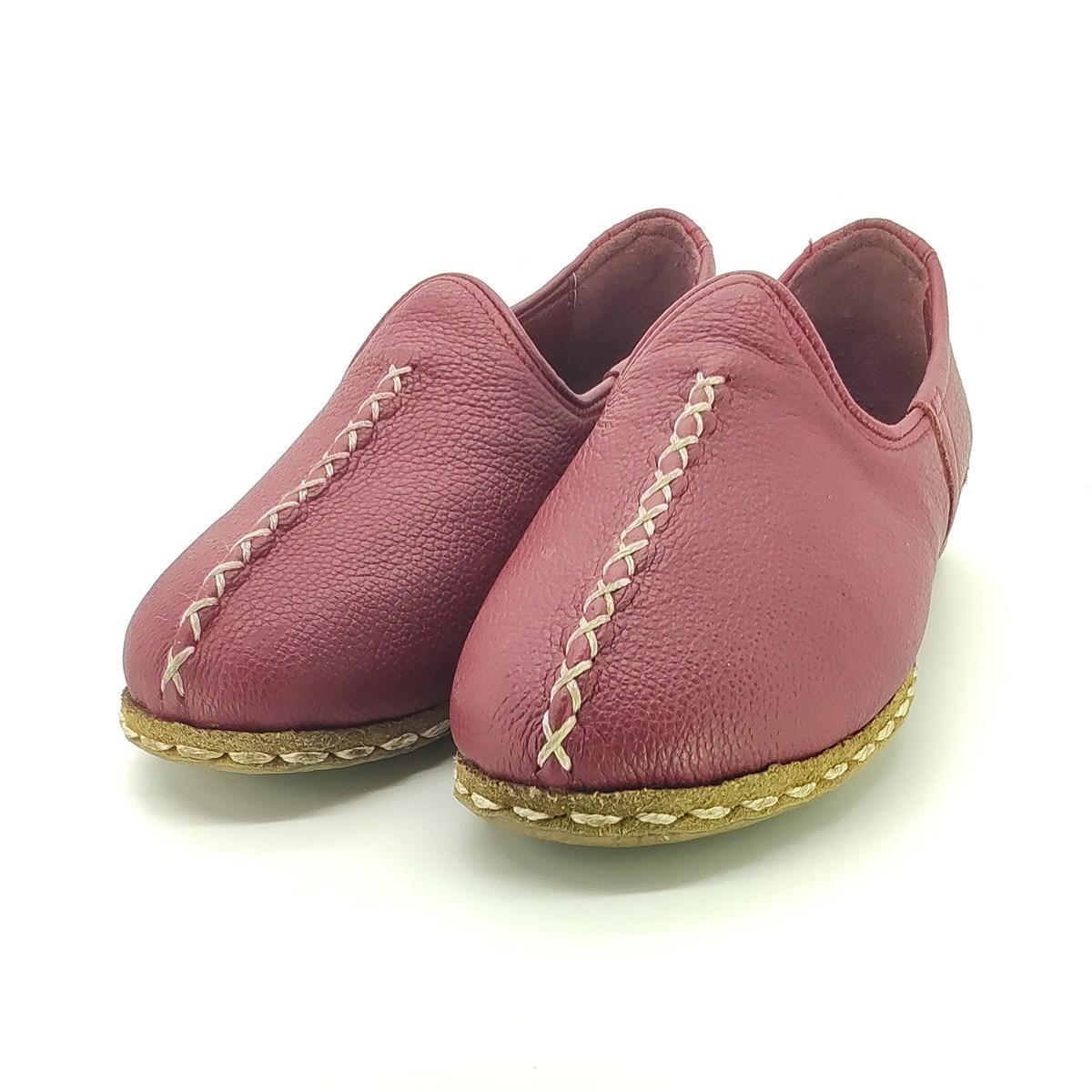 Ladies Walking Primavera Verão Casual alta qualidade genuína retro artesanal de couro lazer preguiçosos Shoes