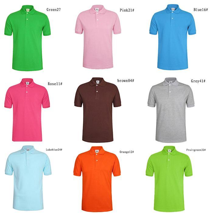 Yaz Yeni Short Sleeve Tişört Bayanlar Yaka Gevşek Pamuk Gömlek Kısa Kollu Katı Renk Boş Rahat Nefes Basit Atmosfer