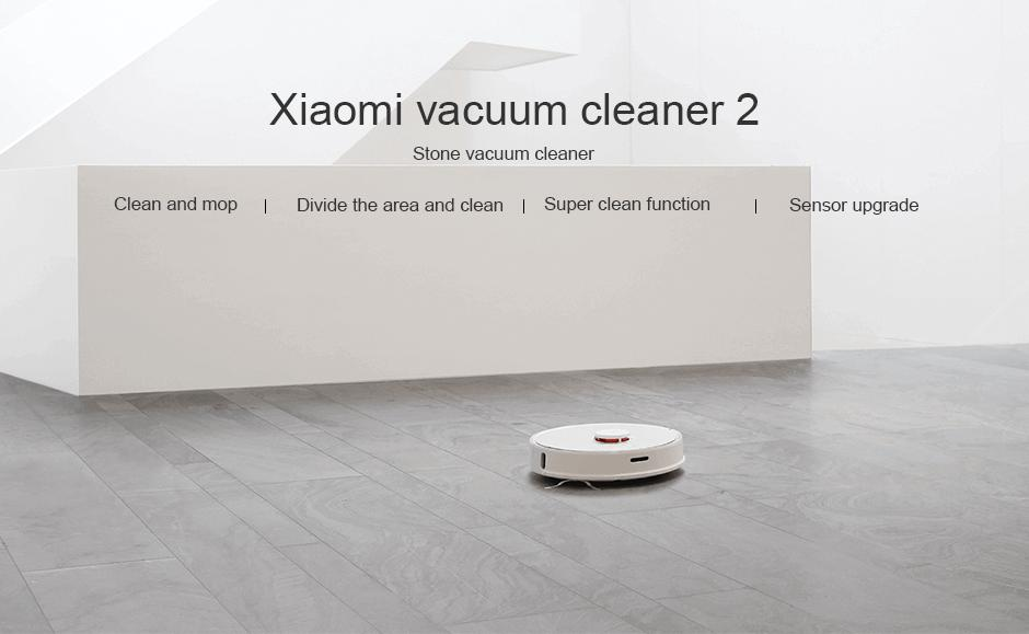 Roborock S50 S55 Xiaomi Vacuum Cleaner 2 For Home Automatic Sweeping APP  Control Smart Planned Strong Suction Wet Mopping Home Security Home