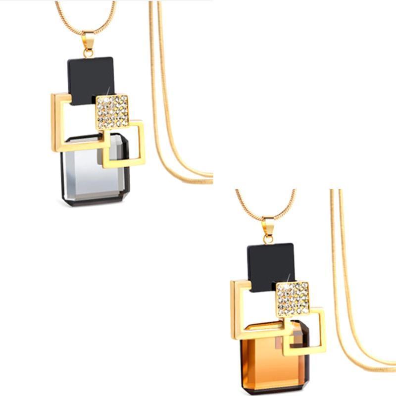 Feminino Versão Coreana Do New camisola longa cadeia de moda retro jóias coreana colar de presente de aniversário