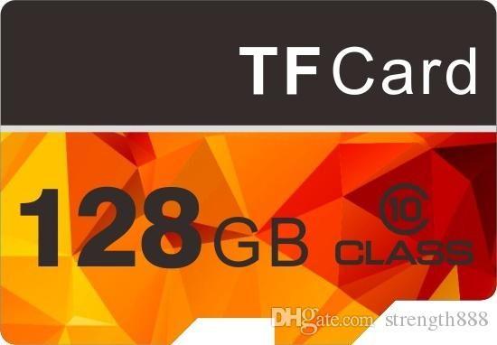 سعة ذاكرة 32 جيجا بايت - 128 جيجا بايت عالية السرعة MicroSD SD / TF Card10