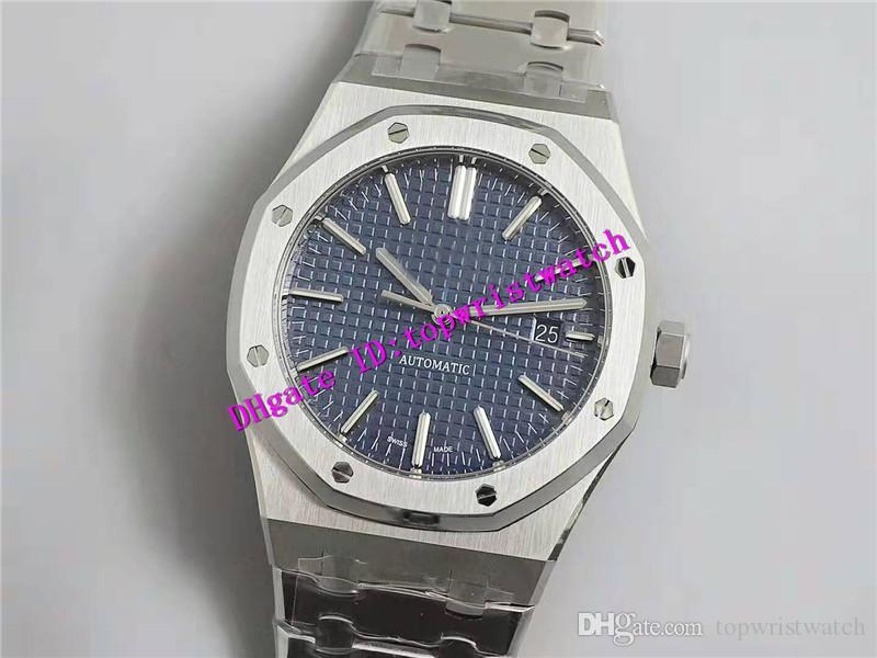 ZF Extra-Fino ROYAL OAK 15400 Esporte Mens Watch Designer relógios suíços 3120 Mecânica Automatic 28800 vph cristal de safira à prova d'água