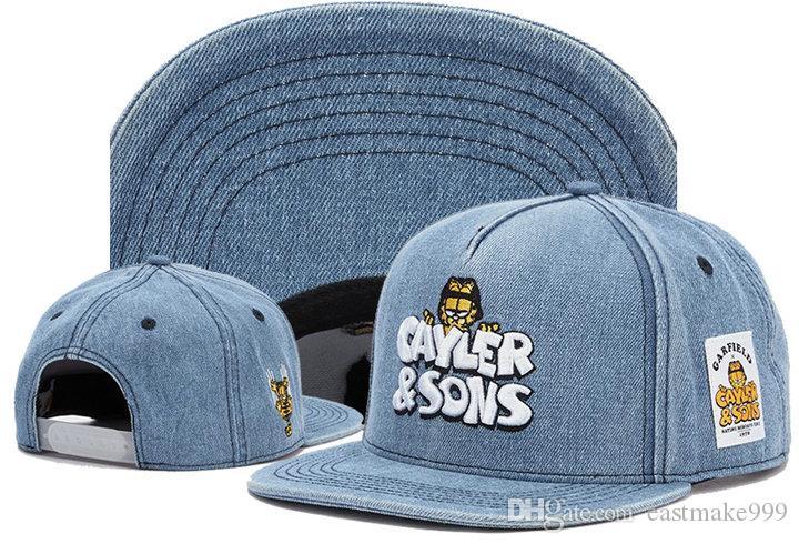 2019 وصول ساخنة جديدة Cayler أبناء العلامة التجارية قبعات snapback العلامة التجارية مصمم الرجال والنساء رجع القبعات cayler أبناء قبعة قبعة الهيب هوب