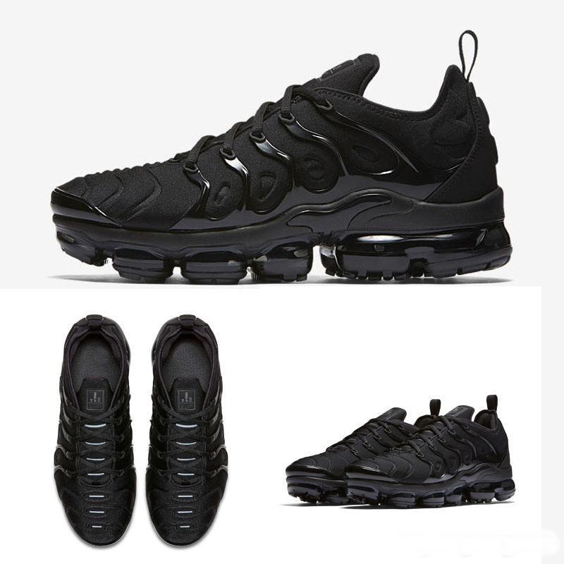 Nike Air Max TN artı erkekler kadınlar buharlar ayakkabı max spor ayakkabıları chaussures hava yastığı yastıkları tns femme requin erkek koşu spor v2 2019 tn