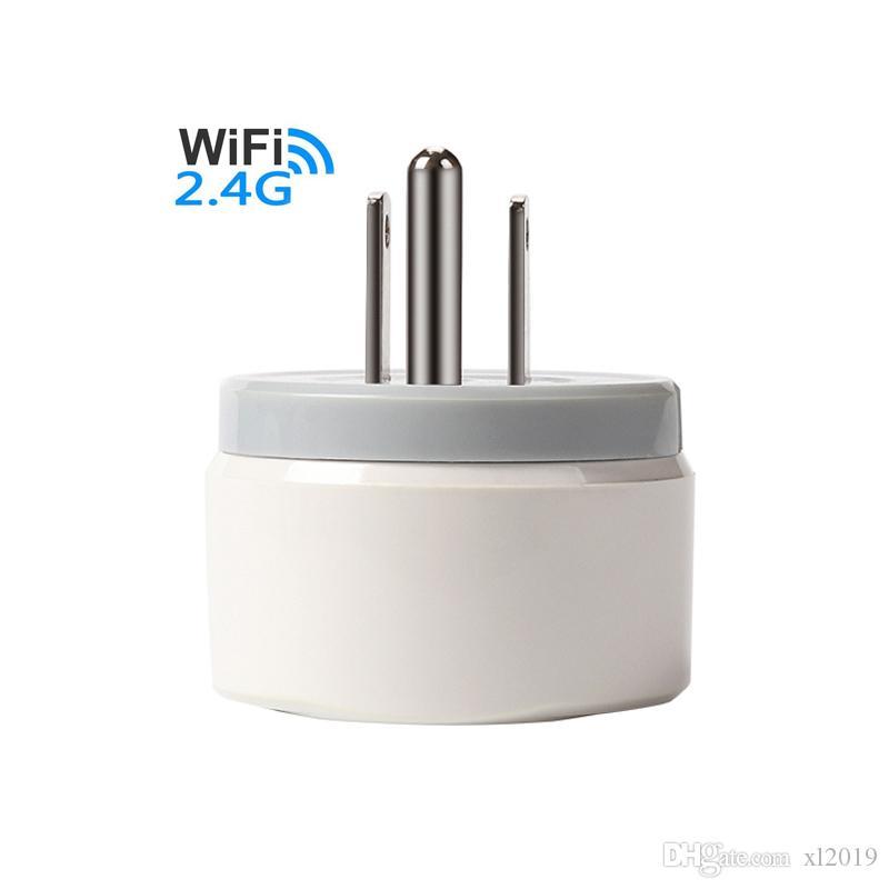 الولايات المتحدة التوصيل واي فاي محول الذكية قابس جهاز التحكم عن بعد الأجهزة المنزلية السلطة على / قبالة وظيفة توقيت وظيفة دعم جوجل IFTTT