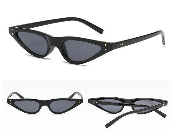 Classico europeo e del commercio con l'estero americani retrò 2018 nuovi occhiali da sole di personalità di occhio di gatto occhiali da sole unghie riso occhiali da sole femminili 5039