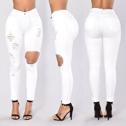 جز عميد اجتهاد Pantalon Skinny Blanco Mujer Translucent Network Org