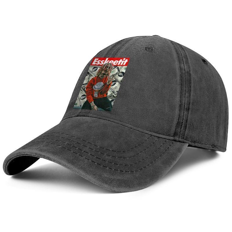 Lil pompa esskeetit Dollaro mens hip hop e donne camionista denim tappo fresco di progettazione personalizzata personalisedblank cappelli stylishteam d'epoca