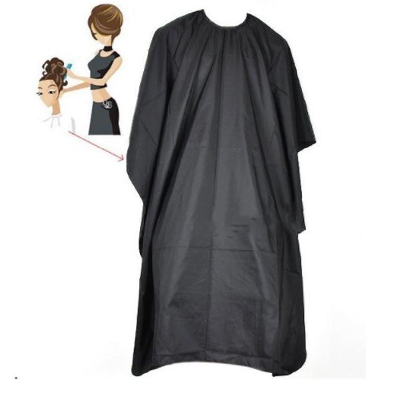 Barbeiros Cabeleireiro Envoltório Cabeleireiro de Corte de Cabeleireiro Salão Grande Adulto À Prova D 'Água Cape Gown Preto Cabeleireiro Cape Envoltório do Vestido