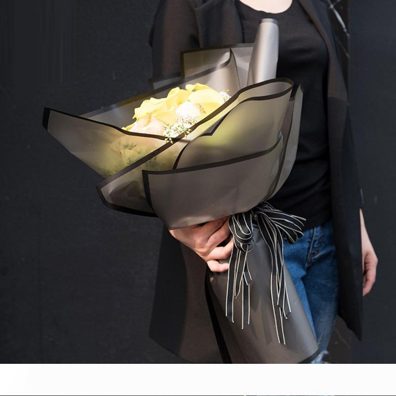 B подарочная упаковка 20 листов лот Цветочная упаковочная бумага ручной работы упаковочный материал бумажный букет флористические принадлежности фестиваль подарочная упаковка папье
