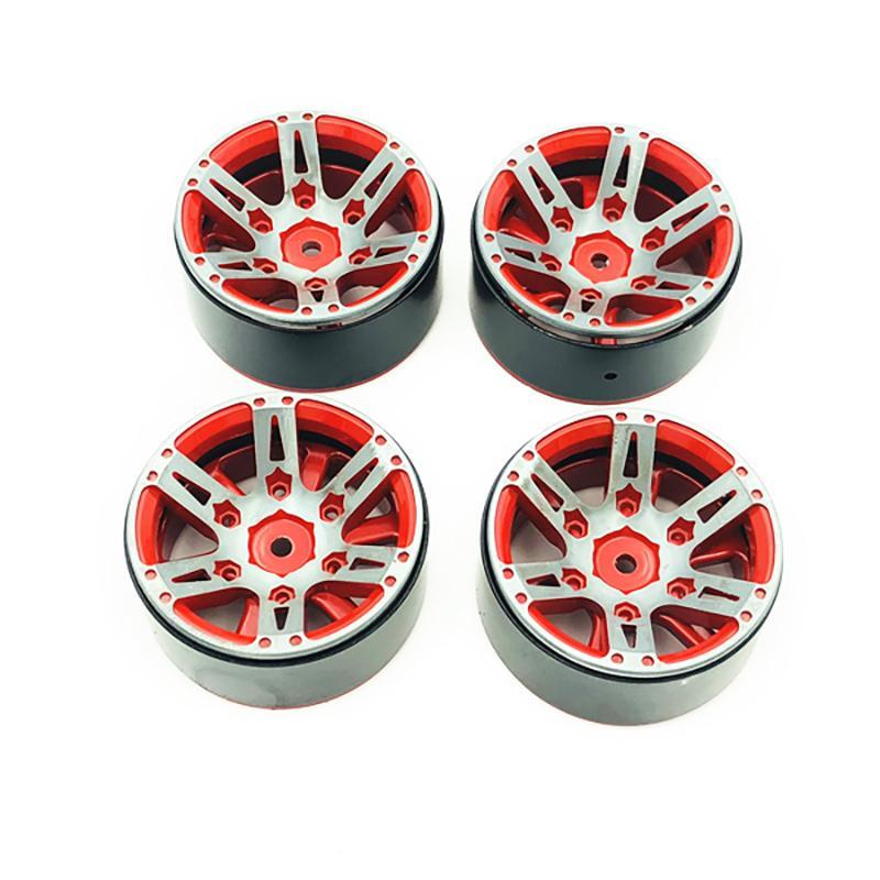 """1.9/"""" Alloy Beadlock Wheels Rim For 1//10 RC Axial SCX10 D90 TF2 TRX4 CC01 Crawler"""