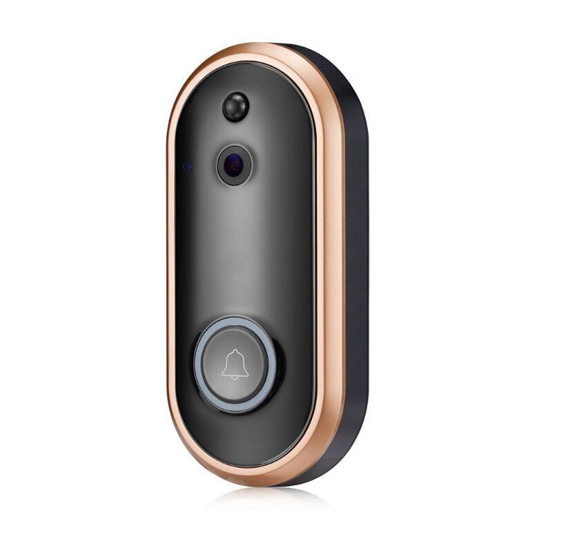 M6 Wireless WiFi Video Tür 1080P HD Läuten Kamera 2MP Nachtsicht Zwei-Wege-Audio 2.4G Telefon Fern PIR-Bewegungsmelder