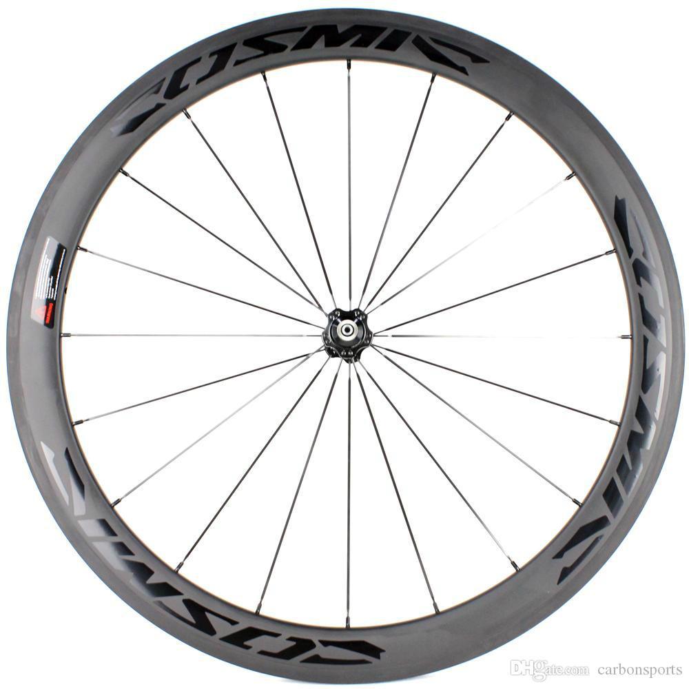 Factory sale price Road bike 50mm depth 25mm width carbon wheels full carbon wheels full carbon fibre wheelset with twill weave