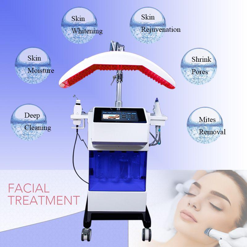 Professionelle Hydro Peel Dermabrasion Akne-Behandlung Sauerstoff Jet Hydra Facial Sauerstoff-Maschine BIO Face Lift Beauty Geräte