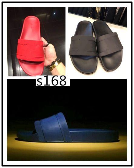 Di alta qualità degli uomini di Palazzo Medusa slide pantofole dei sandali Scarpe uomo size36-45 Womens pantofole 8