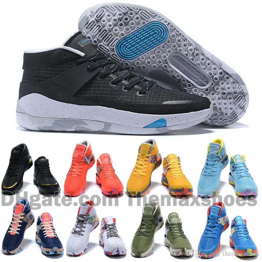 Siyah Beyaz Basketbol Ayakkabı Erkek KD 13s 12 Ne Teyzem Spor Sneakers Boyut 40-46 başlayarak 2020 BH3 Kevin Durant XIII KD13