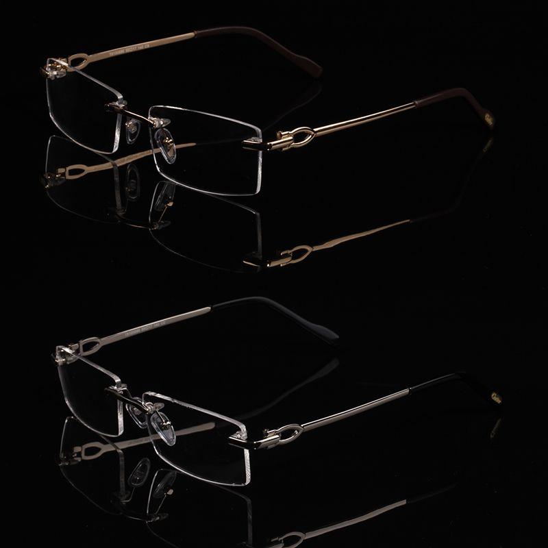 أزياء النظارات إطارات من الرجال والنساء وصفة طبية نظارات بدون إطار الموضة إطارات النظارات البصرية T8100686 2020 النظارات مربع مع