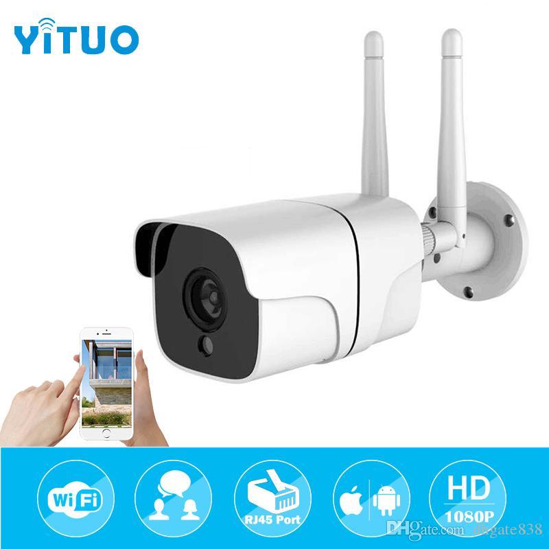 Dual Antenna HD 1080P Wifi Wireless IP CCTV 2.0MP Audio Camera Outdoor IP65 Waterproof Home Security Surveillance Bullet Camera Support TF C