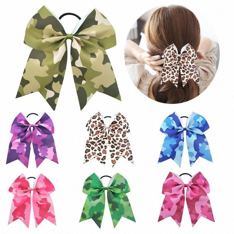 Las niñas de 7 pulgadas grande arcos del pelo Niños banda que anima Bowknot pelo elástico lindo Hairband Para Niños Chicas Accesorios niña del pelo Un hg0I #