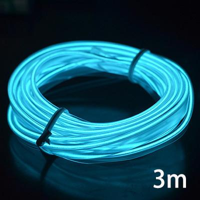 12v El Wire Car Neon Led Light Decoration Strip Colors Led Lamp Cigarette Lighter Socket Auto Lights Universal Auto Accessories C19041201 Home Decoration Furniture Home Decoration Items From Mingjing02 5 4 Dhgate Com