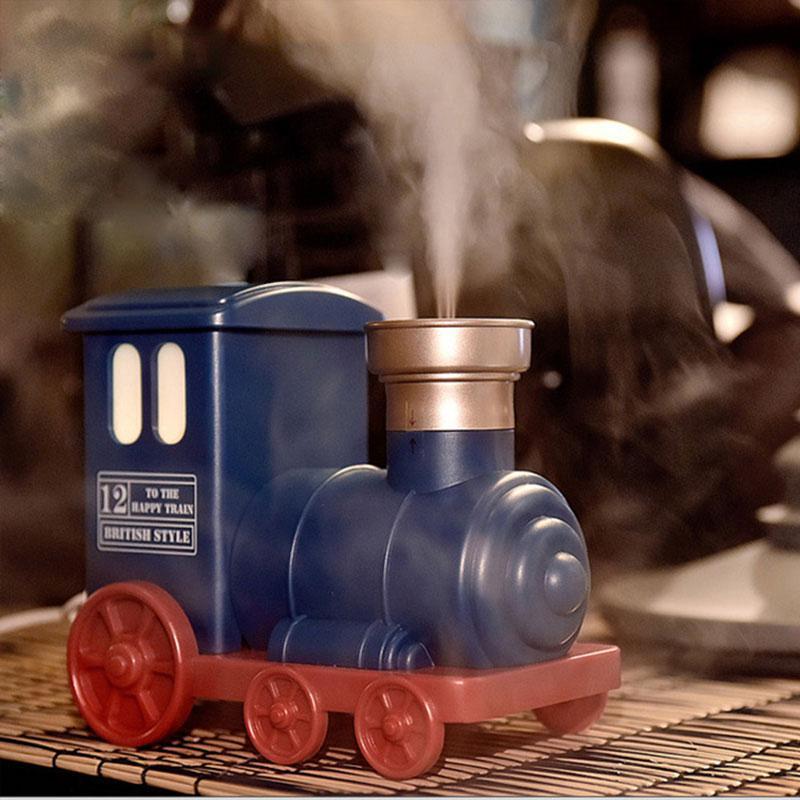 DEKAXI Mini USB Увлажнитель воздуха Поезд игрушки Ультразвуковой увлажнитель воздуха Аромат Эфирное масло Диффузор Mist Maker дома Спальни Детей