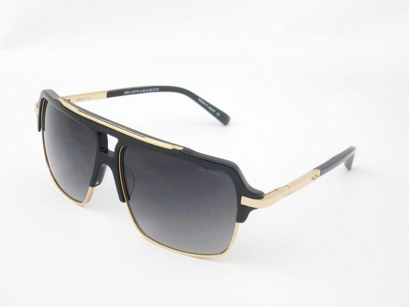 Hot mach quatro 2070 Óculos de sol moda homens deisnger popular metade quadro uv400 lente estilo de verão grande quadro quadrado qualidade superior vêm com caso