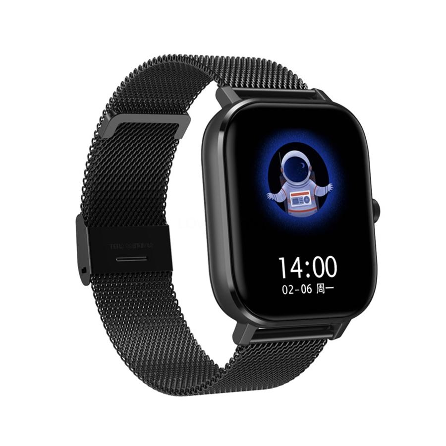 Kw19 DT-35 relógio inteligente Mulheres Heart Rate Monitor Multi-Línguas IP67 Waterproof Homens Sport Watch aptidão Tracker para Android Ios # QA78771