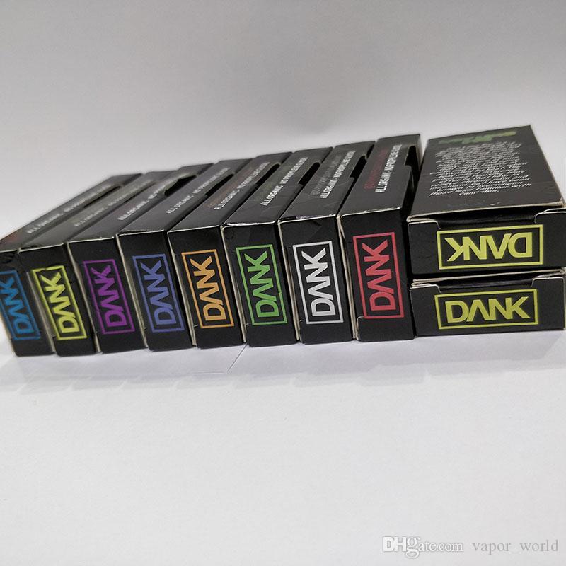 M6T Hologram Dank Vape Emballage de cartouche E cigarettes Vape Tanks G5 Panier Boîte Vaporizer Pen Emballage de cartouche VS West Coast Cure Eurêka