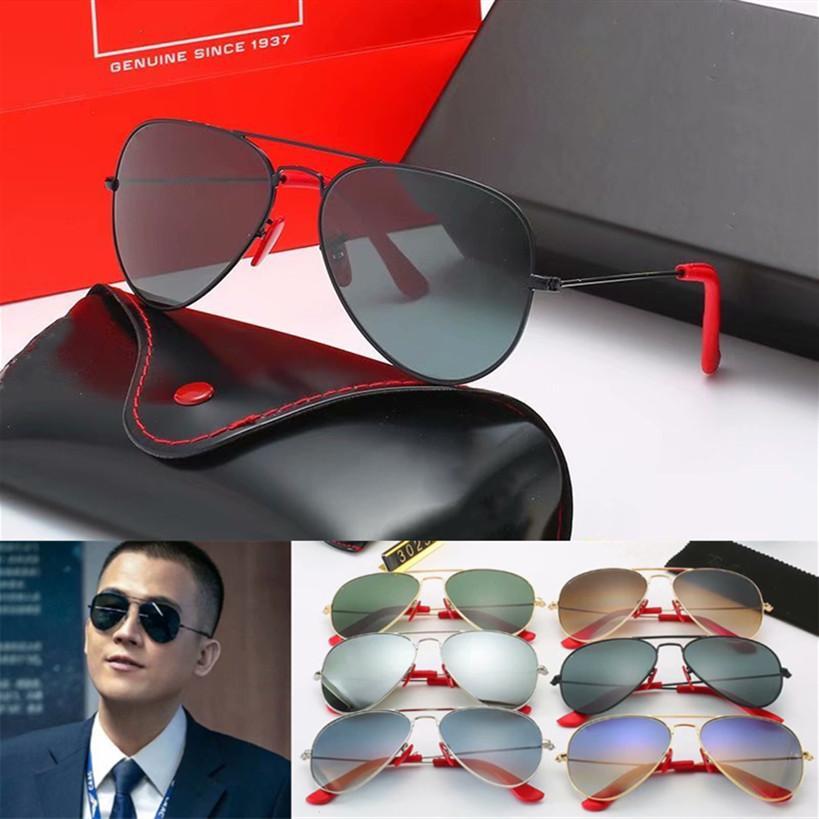 Marka Tasarımı 2020 Sıcak satış Moda Güneş Gözlük Metal Çerçeve Polaroid cam Lens UV400 gözlük sürüş açık havada gözlük kadınlar erkekleri güneş gözlüğü