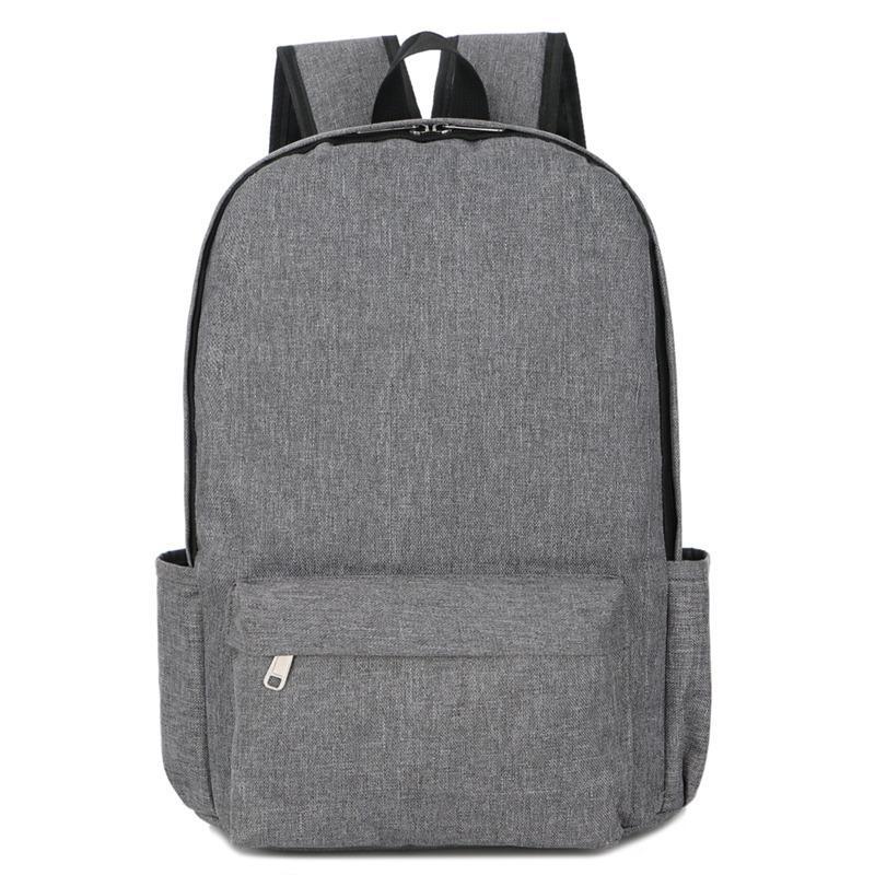 New Fashion Simple Nylon Backpack Men Women School Laptop Backpack for Teenager Student Travel Bagpack Satchels Rucksack Mochila