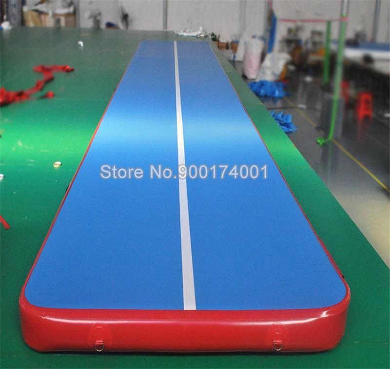 Kostenloser Versand Freies eine Pumpe 3x1x0.2m Aufblasbare Air Gym Strecke Tumbling Mat, DWF-Material Air Track / aufblasbares Airtrack