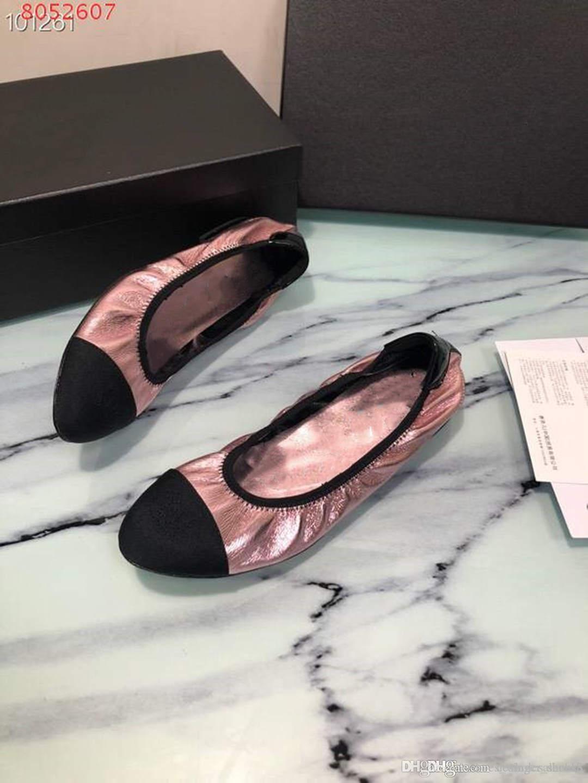 новые женщины Elastic открытия Обувь Модные случайные платье обувь с плоской квартиры розовый, желтый и серебра с упаковки горячей продажи