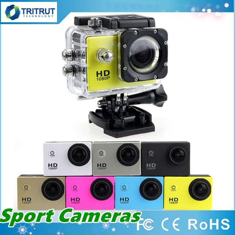 SJ4000 Sports Camera SJ 4000 1080P 2 Inch LCD Full HD Under Waterproof 30M Sport DV Recording Dash Cam For Bicycle Skate Record MQ20