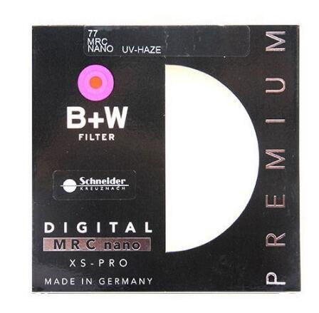 B+W 52mm 55mm 58mm 67mm 72mm 77mm 82mm XS-PRO MRC Nano UV Haze Ultra-thin protection filter MC Filter for camera lens