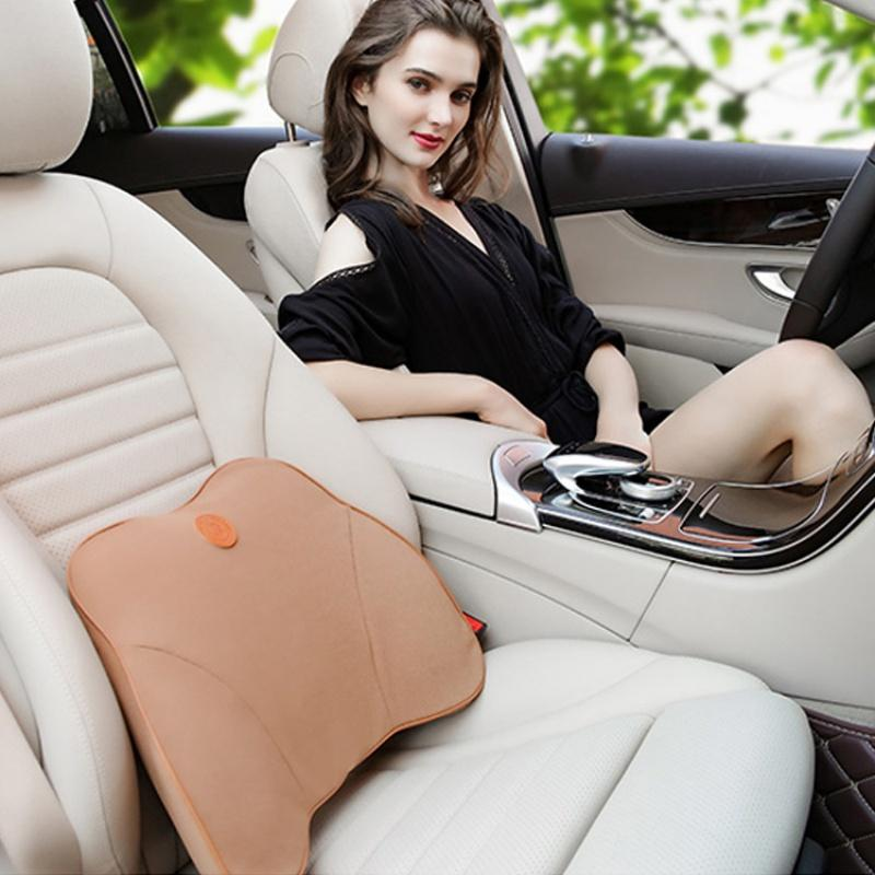 B05 Cloth Double Line In The Waist Portable Spine Support Suede Fabric Cotton Soft Cushion Massage Support Cushion Car Pillows Car Seat Heated Cushion Car Seat Heaters From Pubao 26 4 Dhgate Com