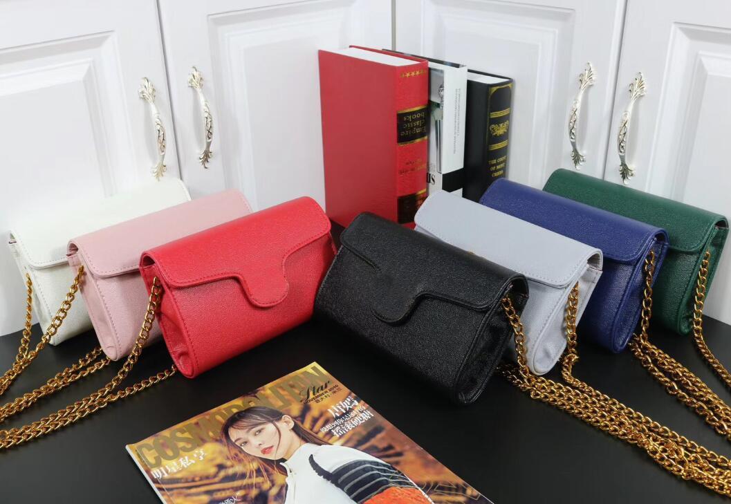 Tasarımcı Lady Çanta Moda Zincir Shouder Çanta Lüks Kadınlar Mizaç Crossbody Yüksek Kalite Küçük Boy Bayan Çantaları