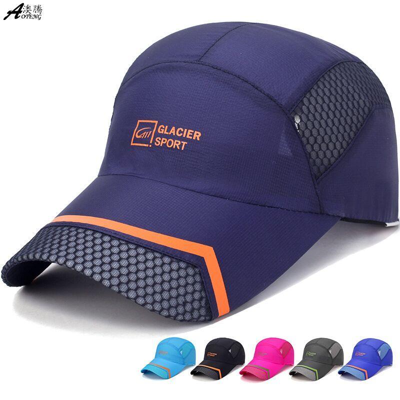 Chapeau été mâle casquette de baseball séchage rapide casual version coréenne langue de canard parasol dames chapeau net sport casquette crème solaire gros A-101