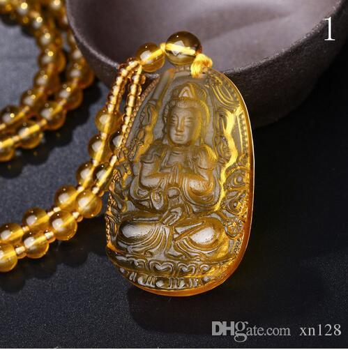 Natürlicher schwarzer Obsidian, der Buddha-Amulett schnitzt, das glückliche Obsidianhalskettenmänner-Paar-Liebe-schwarzer Aura-Charme hängt