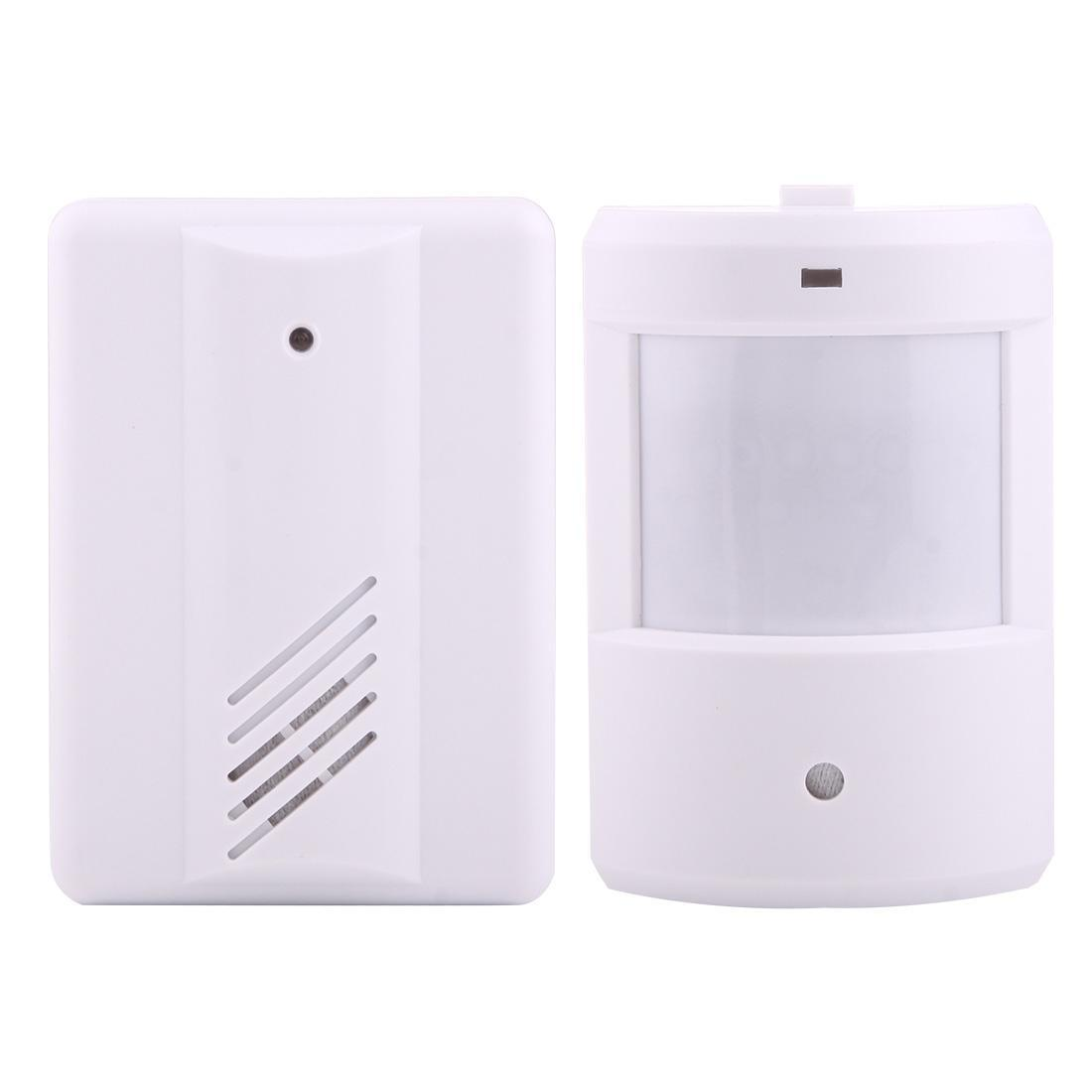 YF-0155 جيد الآمن اللاسلكية الحرس الكهربائية ووتش المخبر عن بعد نظام لكيت وزارة الداخلية، 1 × استقبال + 1 × الكاشف
